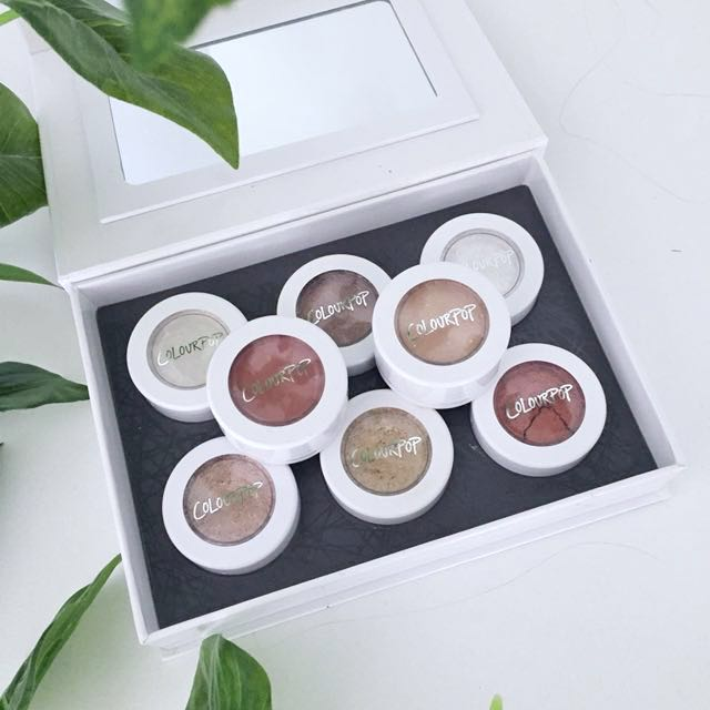 8 x Colourpop Super Shock Eyeshadows
