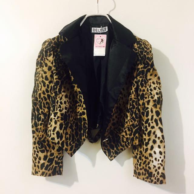 💕豹紋短板外套💕