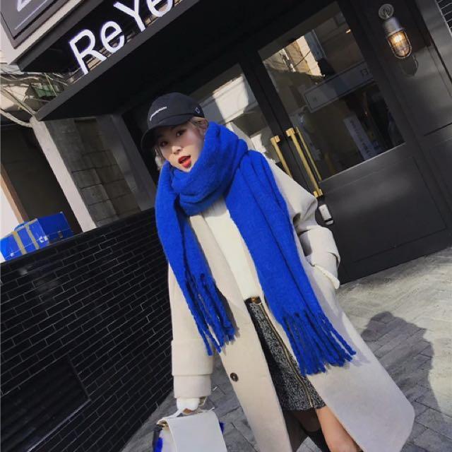 軟綿綿圍巾