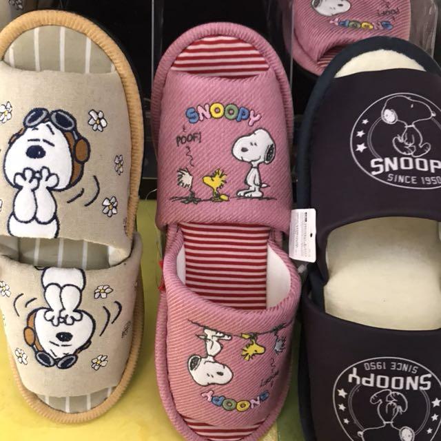 日本限時代購🇯🇵史努比拖鞋