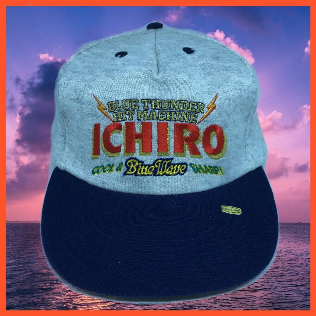 老帽 彎帽 鈴木一朗 ICHIRO KOBE 棒球帽