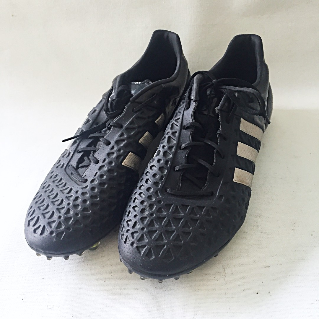 bde50e0d31a SOLD) ADIDAS Predator Men's Black White Soccer Cleats PRB698001 US ...