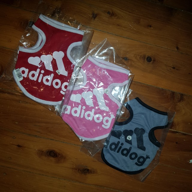 Adidog 3pk Shirts