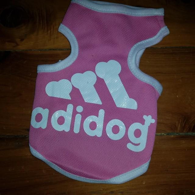 Adidog Pink Shirt