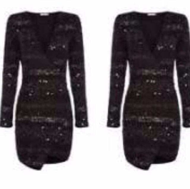 AJE sequin Dress size 6