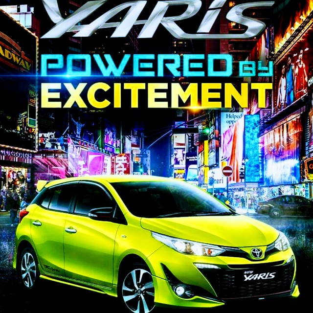 """ALL NEW YARIS 2018 """"Powered by Excitement"""""""