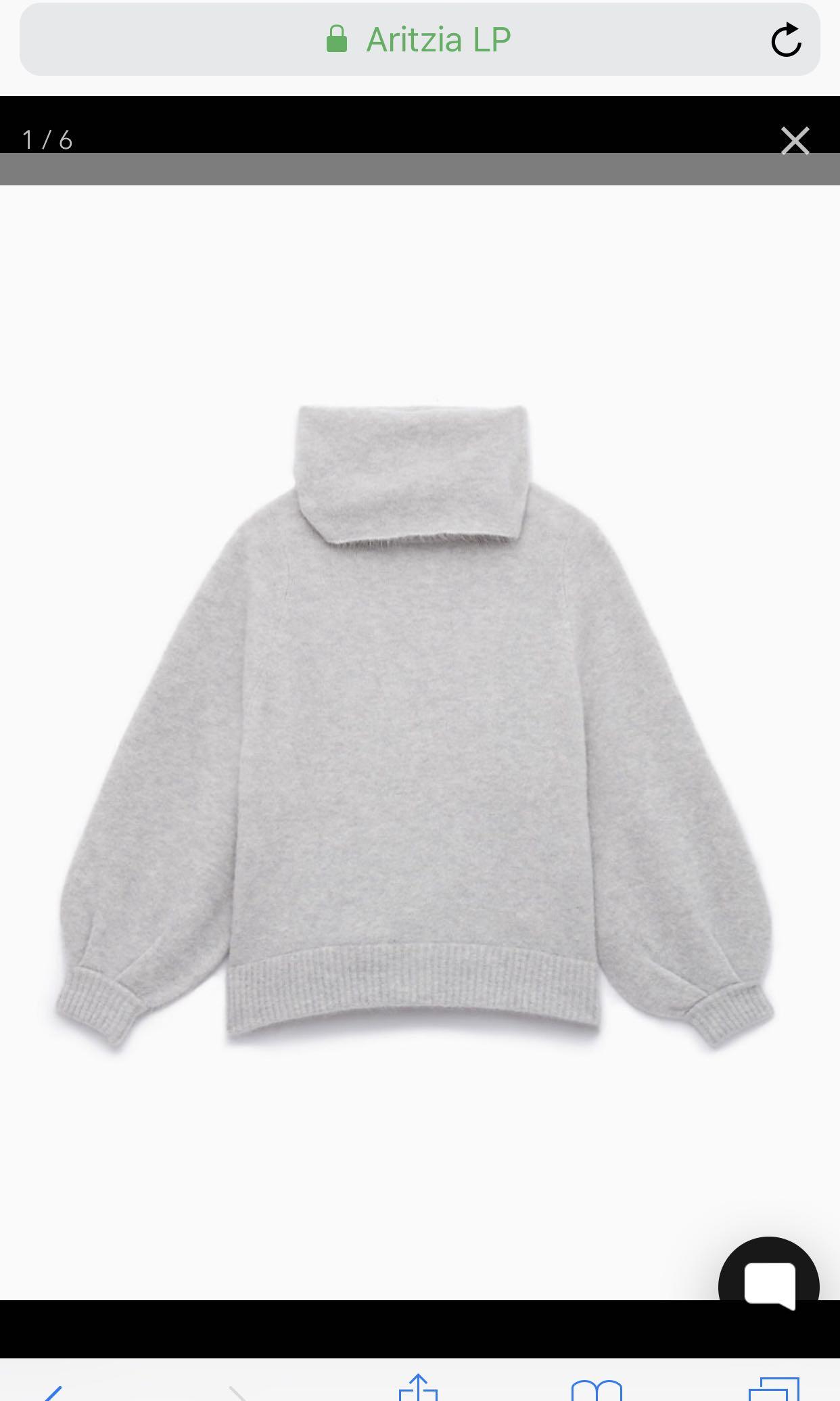 Aritzia 1-01 Babaton Adichie Sweater Size 2 (S)