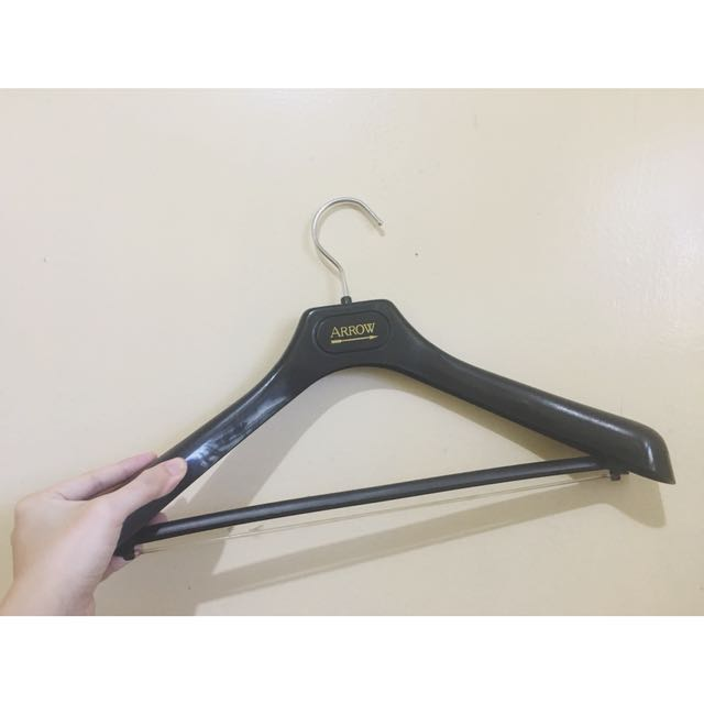 Arrow Hanger for Dress Shirts and Coats