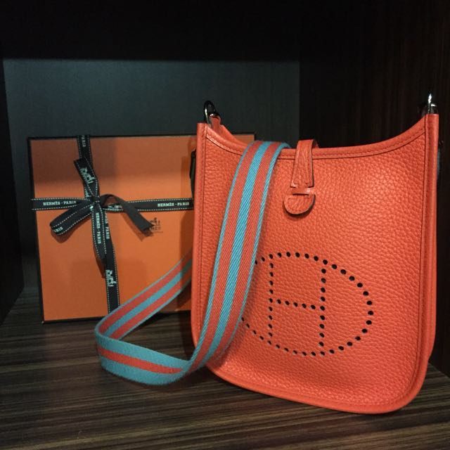 Authentic Hermes Mini Evelyn