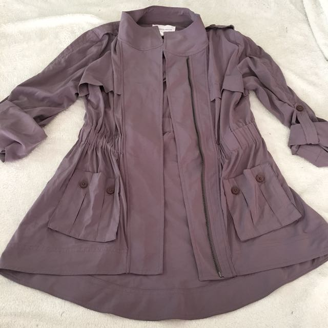 BCBG Spring Trench coat