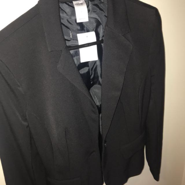 Black blazer BNWT