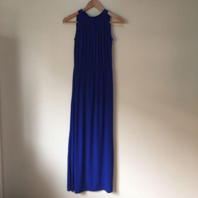 Blue Long Formal Dress