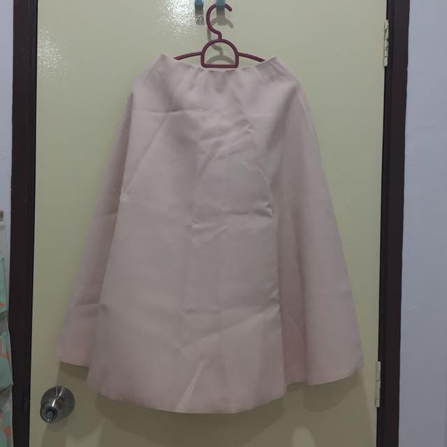 BN pink highwaist puffy skirt