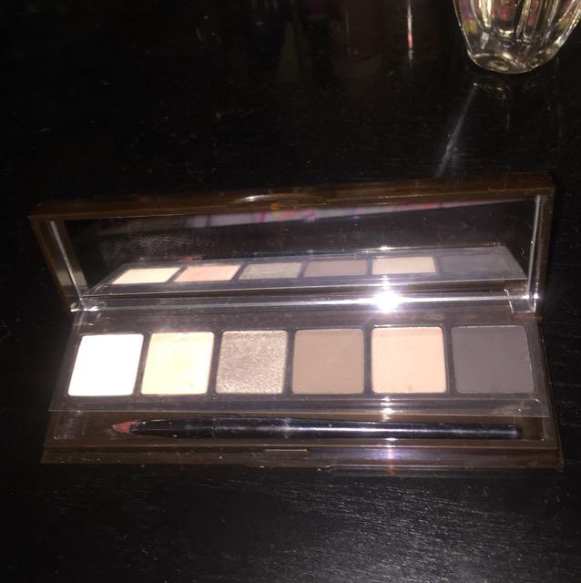 Bobbi brown eyeshadow and lipstick palette