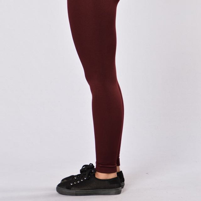 Burgundy Leggings American Eagle