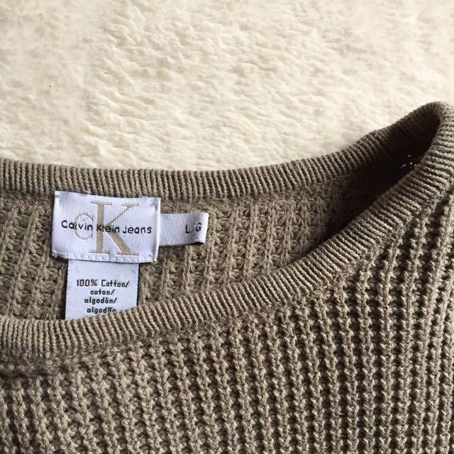 Calvin Klein Beige Sweater