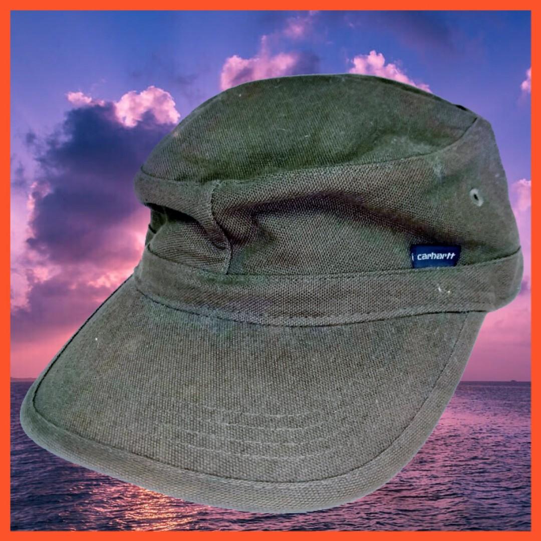 Carhartt 墨綠色 軍帽