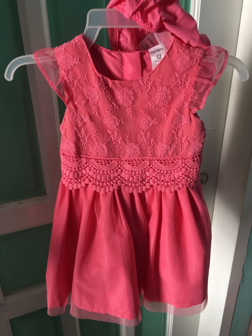 Carter's Pink Tulle Dress