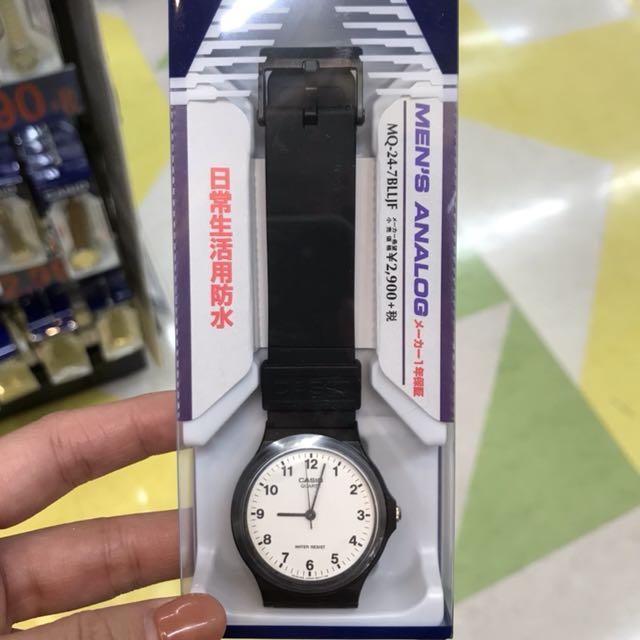 日本限時代購🇯🇵CASIO素面錶