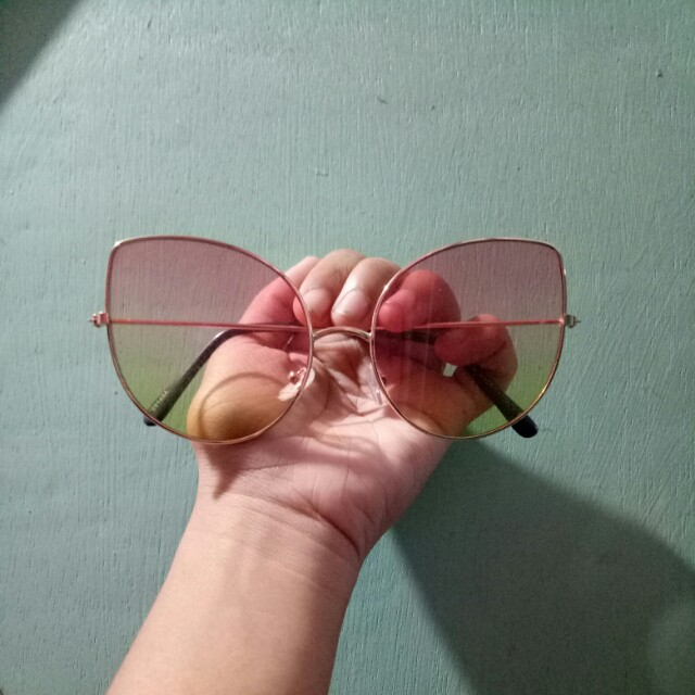 Cateye Gradient Sunglasses