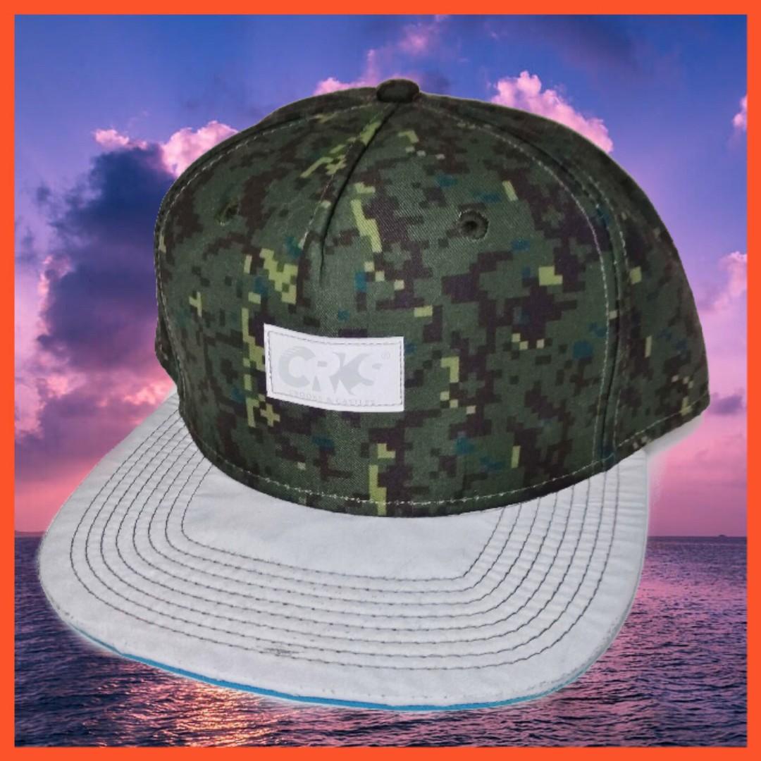 CROOKS 3M 反光材質 數位迷彩 棒球帽 後扣帽