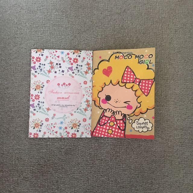 Cute A7 notebooks mini note taking books