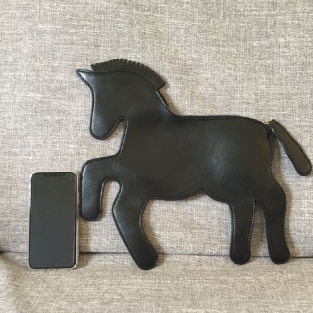 Cute Pony Clutch Bag
