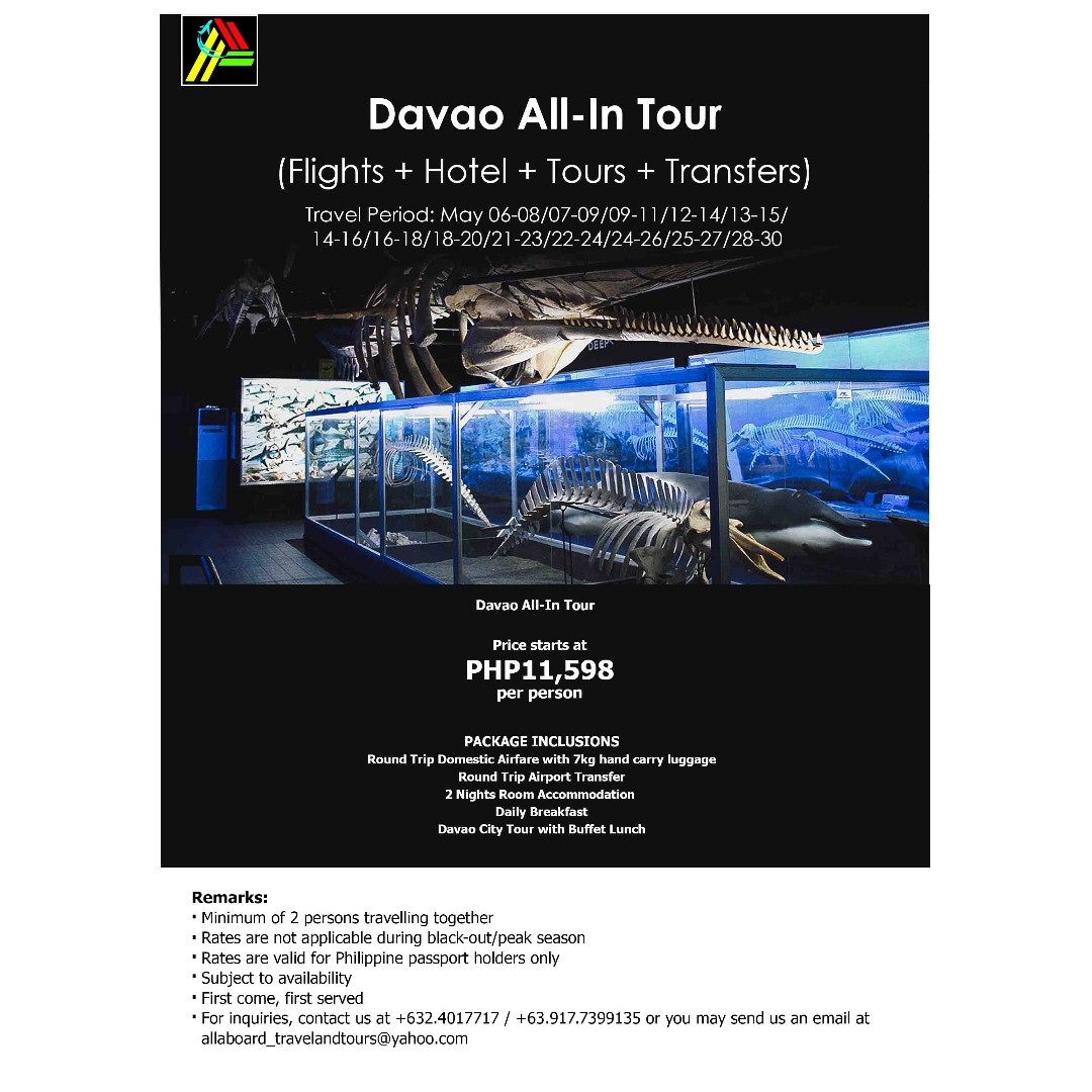 Davao All-In Tour