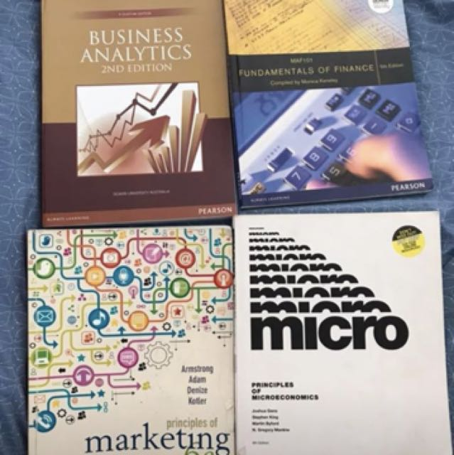 Deakin text books - Commerce