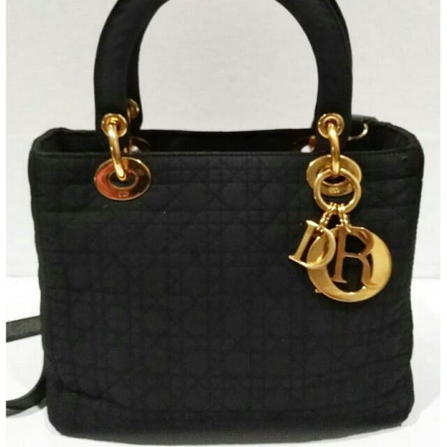 Dior Nylon Black Ghw