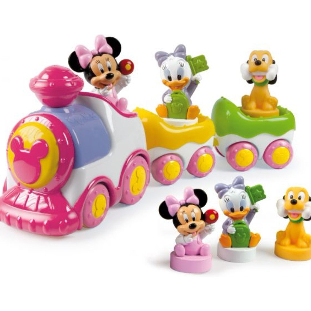 Disney Baby Minnie Musical Train from clementoni 1365974df8