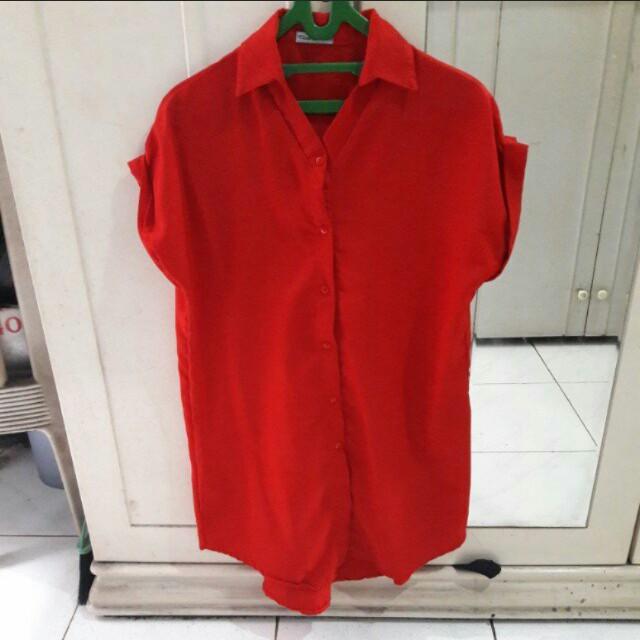 Dress merah cantik,👠