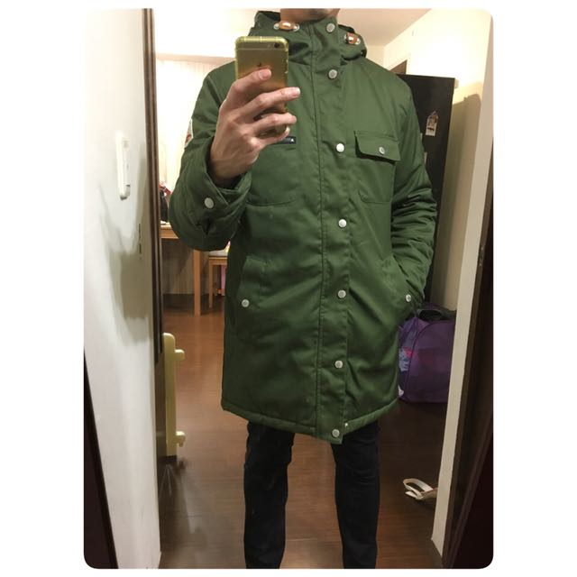 (全新)瑞典品牌Encore 鋪棉連帽大衣 厚 M 169usd