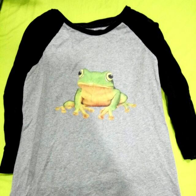 Fandora 青蛙 接袖 上衣