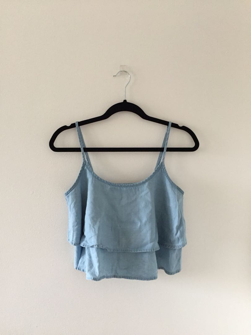 Float Chambray Tank Top