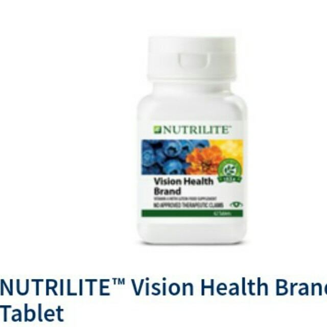 For Vision Health (Vitamin Supplement)