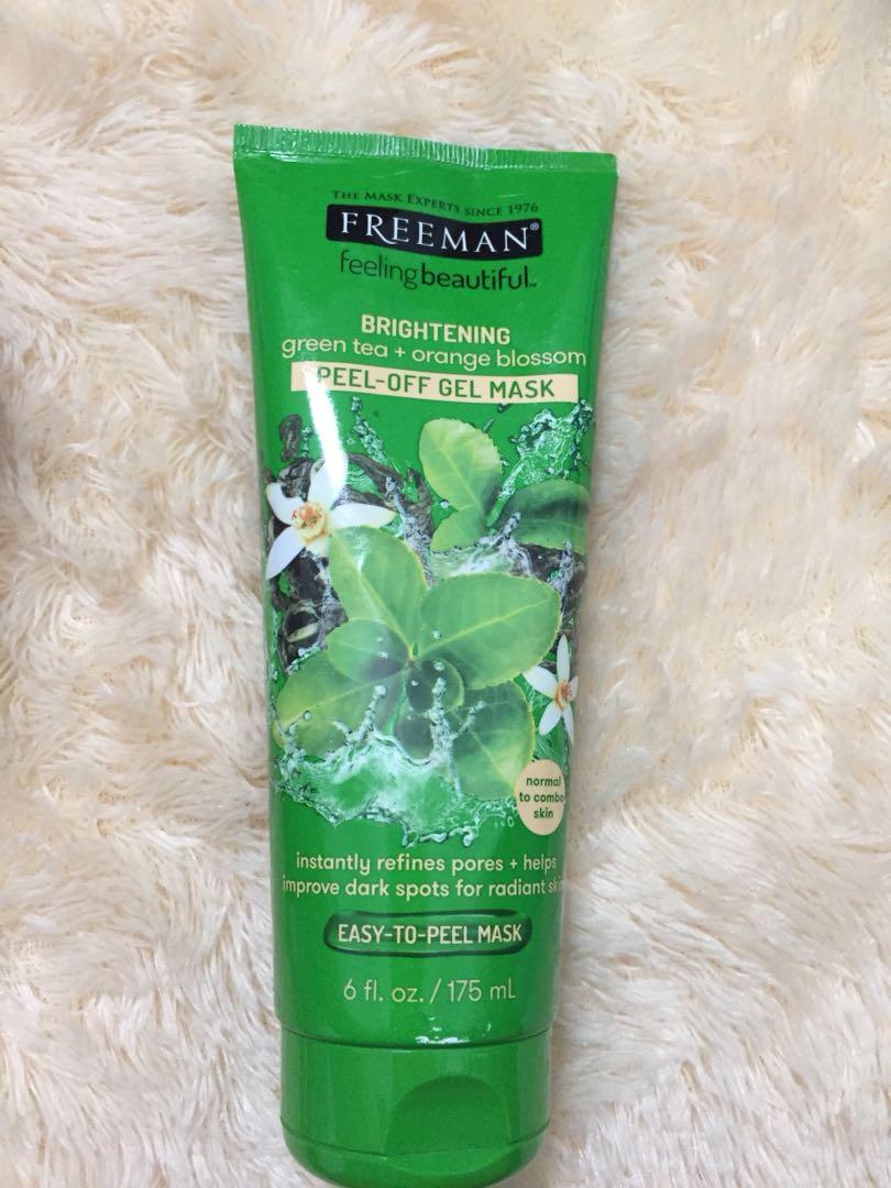 Freeman green tea + orange blossom