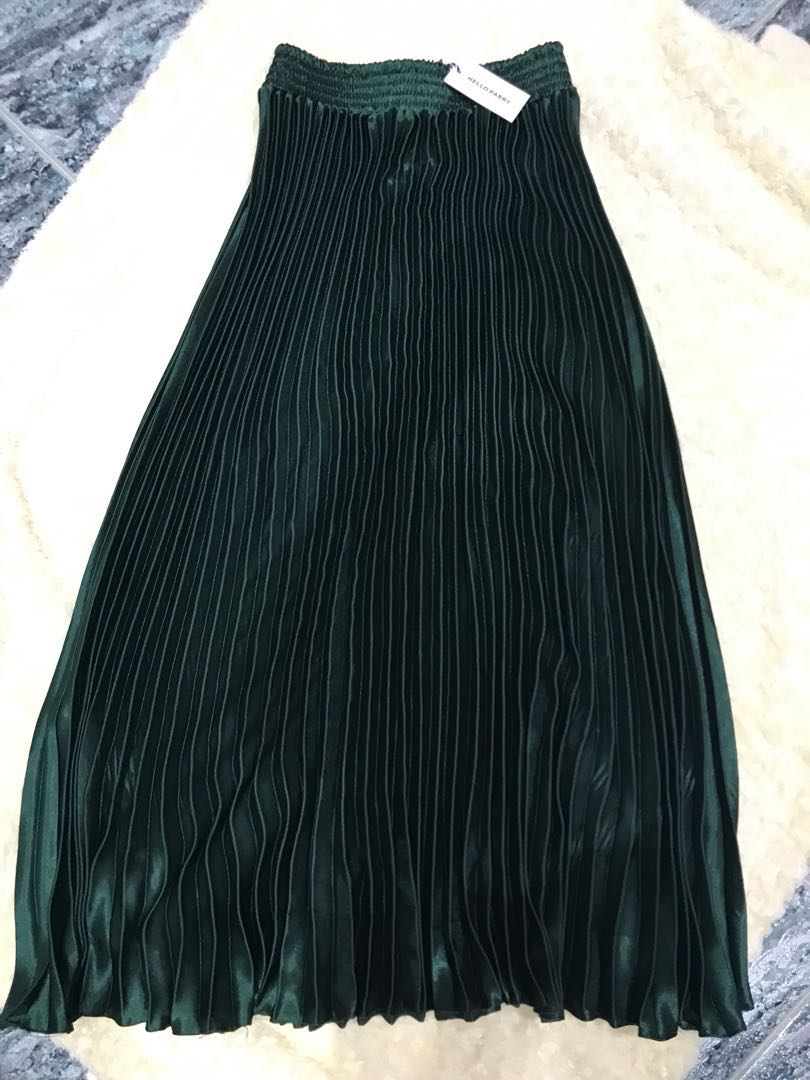 GAIL MAXI PLEATED SKIRT