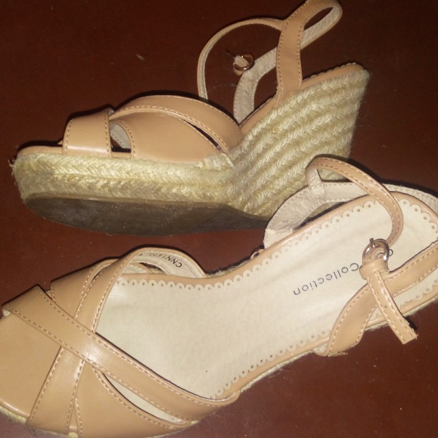 GIBI COLLECTION WEDGES SANDALS