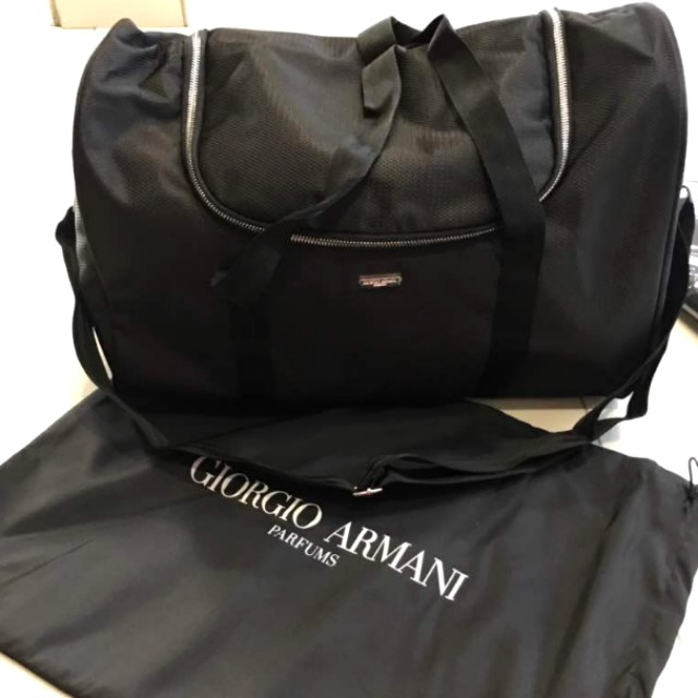 [NEW] ARMANI travel bag (Authentic)