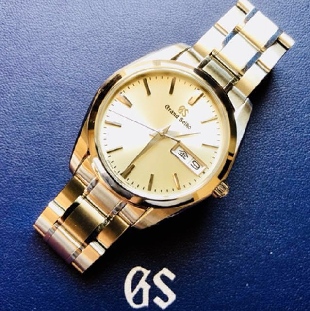 check out 5ff82 46a71 Grand Seiko Quartz (SBGT235), Luxury, Watches on Carousell
