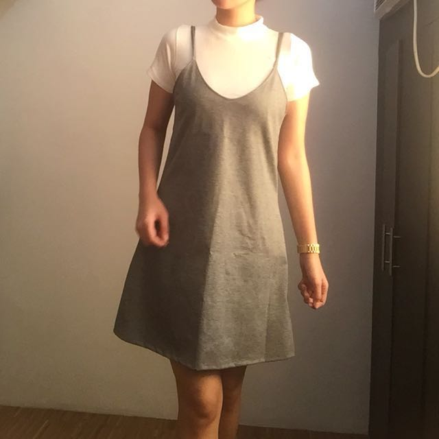 Gray Terno Dress