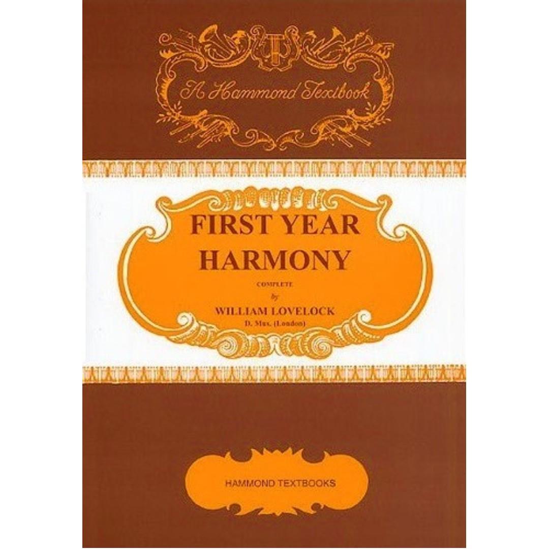 HAMMOND TEXTBOOKS: FIRST YEAR HARMONY