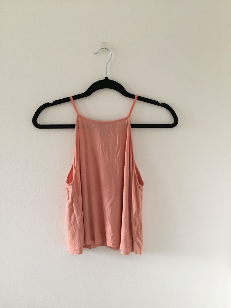 High Neckline Tank