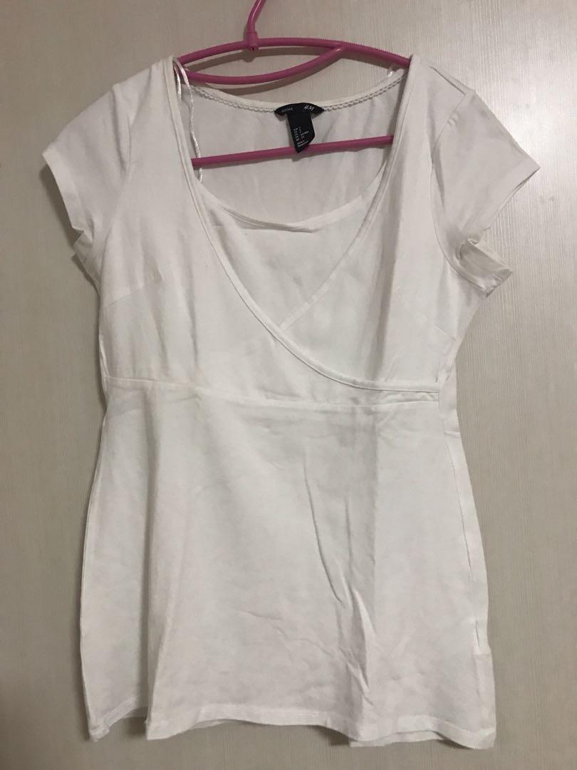 H&M mama breastfeeding shirt