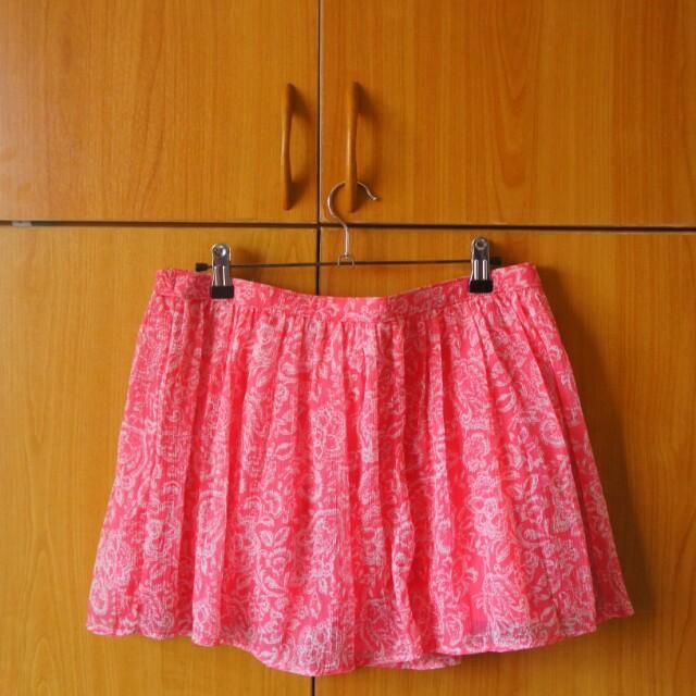 Hollister Pink Skirt