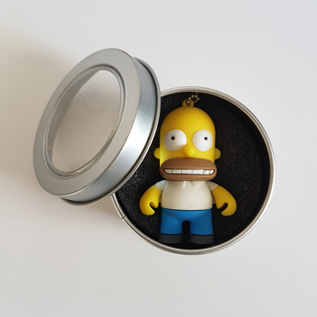 HOMER SIMPSON USB Novelty Key Chain