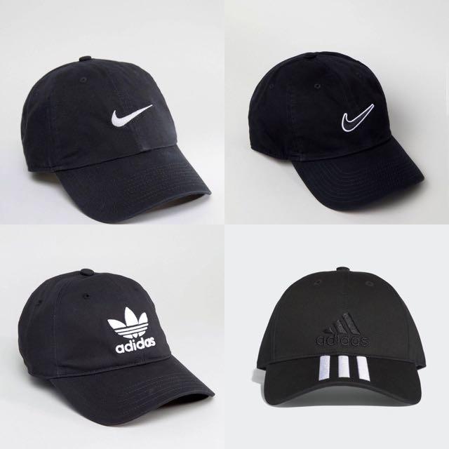 1782032f68e INSTOCKS) Authentic Nike Adidas Baseball Caps