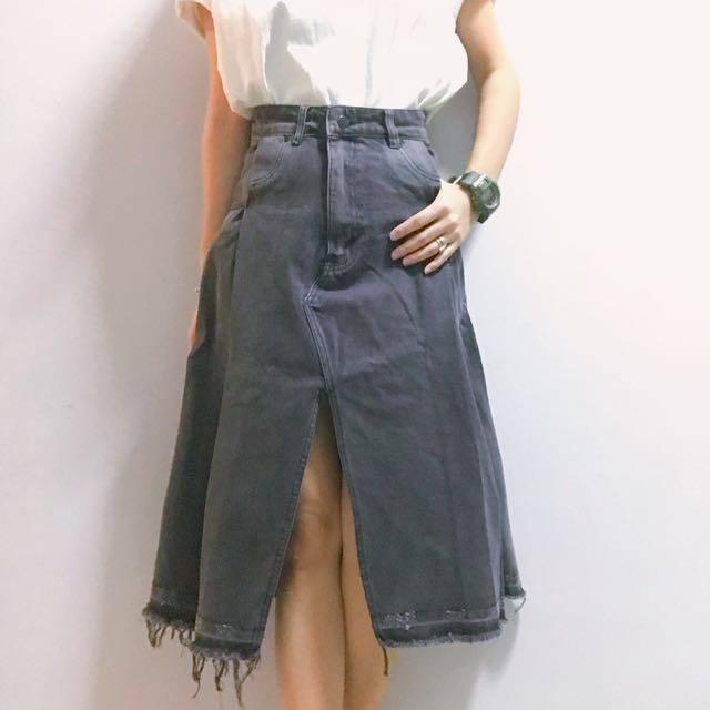 ISSGL Designer Denim Skirt