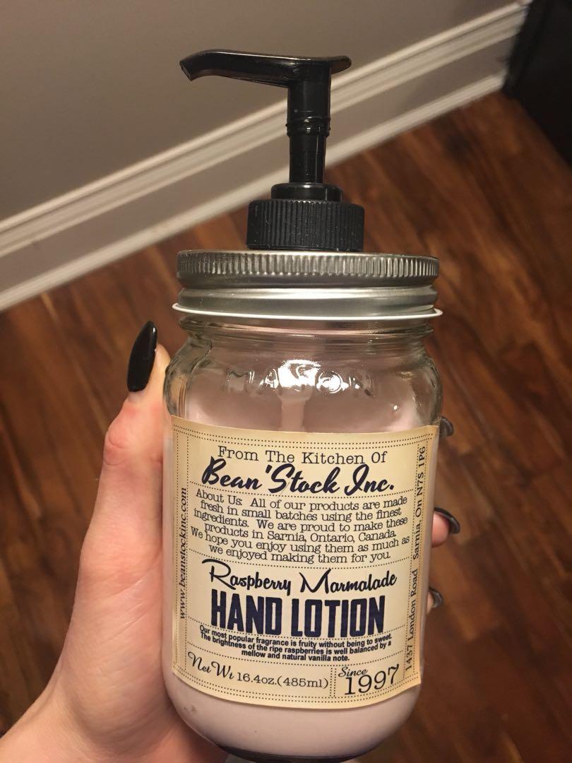 Jar pump lotion